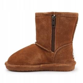 Sapatos de inverno BearPaw Emma Toddler 608TZ castanho preto 4
