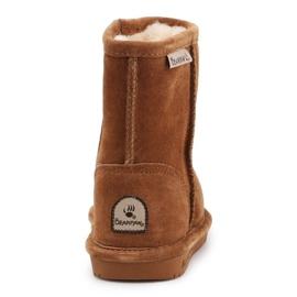Sapatos de inverno BearPaw Emma Toddler 608TZ castanho preto 5