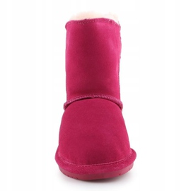 Sapatos Bearpaw Mia Toddler Jr.2062T-671 Pom Berry rosa 1