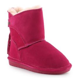 Sapatos Bearpaw Mia Toddler Jr.2062T-671 Pom Berry rosa 3