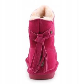 Sapatos Bearpaw Mia Toddler Jr.2062T-671 Pom Berry rosa 5