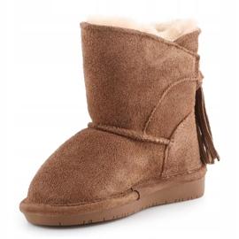 Sapatos Bearpaw Mia Toddler Jr.2062T-220 Hickory Ii castanho 2