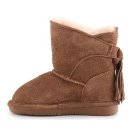 Sapatos Bearpaw Mia Toddler Jr.2062T-220 Hickory Ii castanho 4