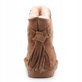 Sapatos Bearpaw Mia Toddler Jr.2062T-220 Hickory Ii castanho 5