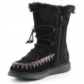 Sapatos de inverno Geox J Thymar GB Jr J944FB-00022-C9999 castanho azul 2