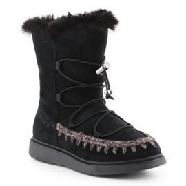 Sapatos de inverno Geox J Thymar GB Jr J944FB-00022-C9999 castanho azul 3