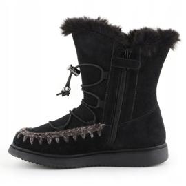 Sapatos de inverno Geox J Thymar GB Jr J944FB-00022-C9999 castanho azul 4