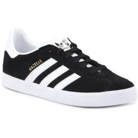 Sapatos Adidas Gazelle C Jr BB2507 preto azul 3