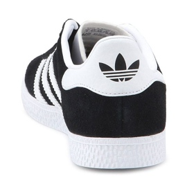 Sapatos Adidas Gazelle C Jr BB2507 preto azul 5