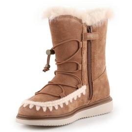 Sapatos Geox J Thymar GB Jr J944FB-00022-C6627 castanho azul 2