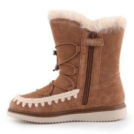 Sapatos Geox J Thymar GB Jr J944FB-00022-C6627 castanho azul 4