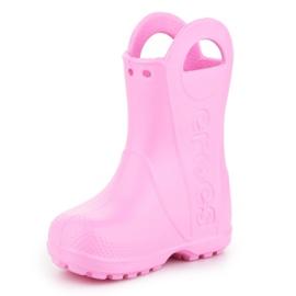 Crocs Handle It Rain Boot Kids 12803-612 rosa 2