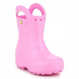 Crocs Handle It Rain Boot Kids 12803-612 rosa 3