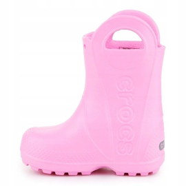Crocs Handle It Rain Boot Kids 12803-612 rosa 4