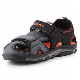 Sandália de expedição infantil New Balance Jr K2005BON preto azul 2