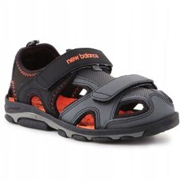 Sandália de expedição infantil New Balance Jr K2005BON preto azul 3