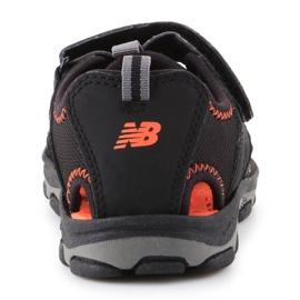 Sandália de expedição infantil New Balance Jr K2005BON preto azul 5