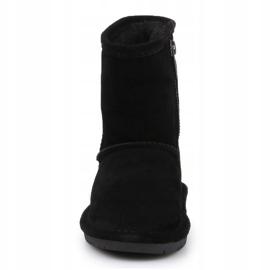 Sapatos BearPaw Emma para criança com zíper Jr 608TZ pretos nunca molhados 1