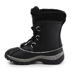 Sapatos BearPaw Jr 1871Y Preto Cinzento 4