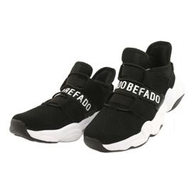 Calçados infantis Befado 516X066 branco preto 2