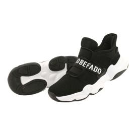Calçados infantis Befado 516X066 branco preto 3