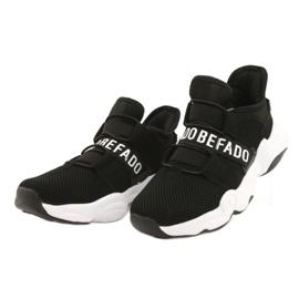 Sapatos juvenis Befado 516Q066 preto 2