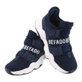 Calçados infantis Befado 516X065 azul marinho 4