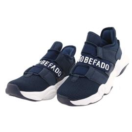 Calçados infantis Befado 516X065 azul marinho 2