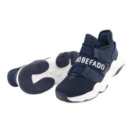 Calçados infantis Befado 516X065 azul marinho 3
