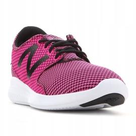 Sapatos Kjcstgly New Balance Jr preto rosa 2