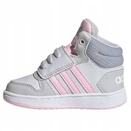 Sapatos Adidas Hoops Mid 2.0 I Jr FY9290 vermelho 1