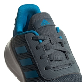Tênis Adidas Tensaur Run K Jr FY7289 azul 2