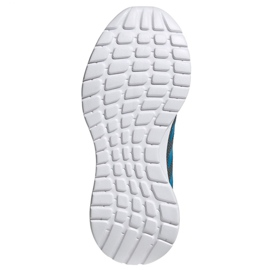 Tênis Adidas Tensaur Run K Jr FY7289 azul 4