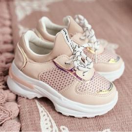 FRROCK Sapatos esportivos infantis rosa Matylda 1