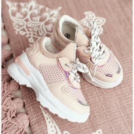 FRROCK Sapatos esportivos infantis rosa Matylda 2