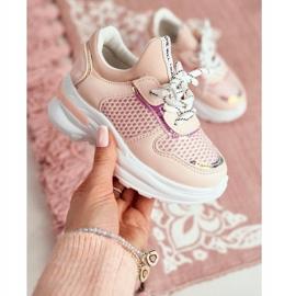 FRROCK Sapatos esportivos infantis rosa Matylda 3