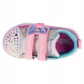 Sapato Skechers Shuffle Lite Sweet Supply Jr 20320N-LPMT preto multicolorido 2