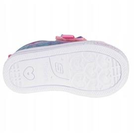Sapato Skechers Shuffle Lite Sweet Supply Jr 20320N-LPMT preto multicolorido 3