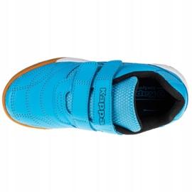 Sapatos Kappa Kickoff K 260509K-6211 preto azul 2