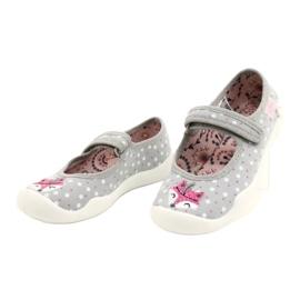 Bailarinas femininas BLANCA BEFADO 114X425 branco -de-rosa cinza 1