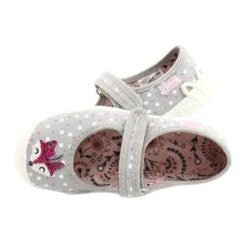 Bailarinas femininas BLANCA BEFADO 114X425 branco -de-rosa cinza 4