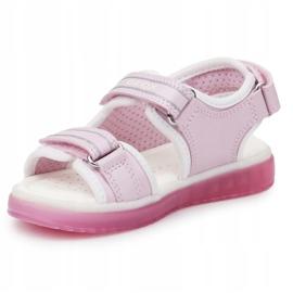 Sandals Geox J S. Blikk GB Jr J928UB-0ASAJ-C8208 azul marinho rosa 2