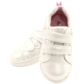 Evento Calçado desportivo com estrela de velcro branco rosa prata multicolorido 4