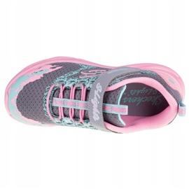 Sapatos Skechers Twisty Brights W 302301L-GYPK rosa cinza 2