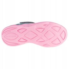 Sapatos Skechers Twisty Brights W 302301L-GYPK rosa cinza 3