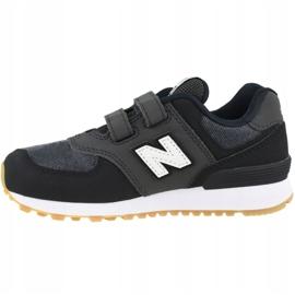 Tênis New Balance Jr YV574DMK preto 1
