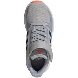 Sapatos adidas Runfalcon 2.0 Jr FZ0115 cinza 2