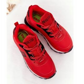 Sapatos esportivos infantis de espuma de memória Big Star HH374173 vermelho 2