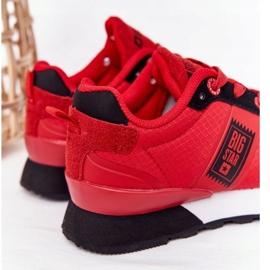 Sapatos esportivos infantis de espuma de memória Big Star HH374173 vermelho 3