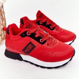 Sapatos esportivos infantis de espuma de memória Big Star HH374173 vermelho 4